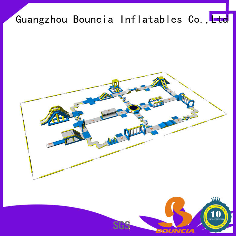 Bouncia Custom giant inflatable water supplier for lake