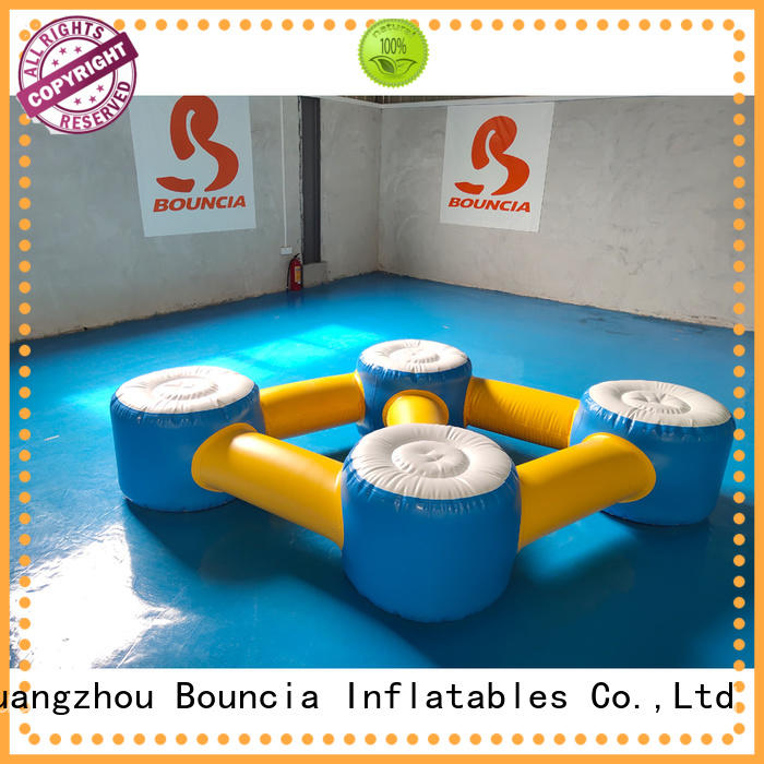 inflatable factory rental guard ladder Bouncia Brand inflatable water games