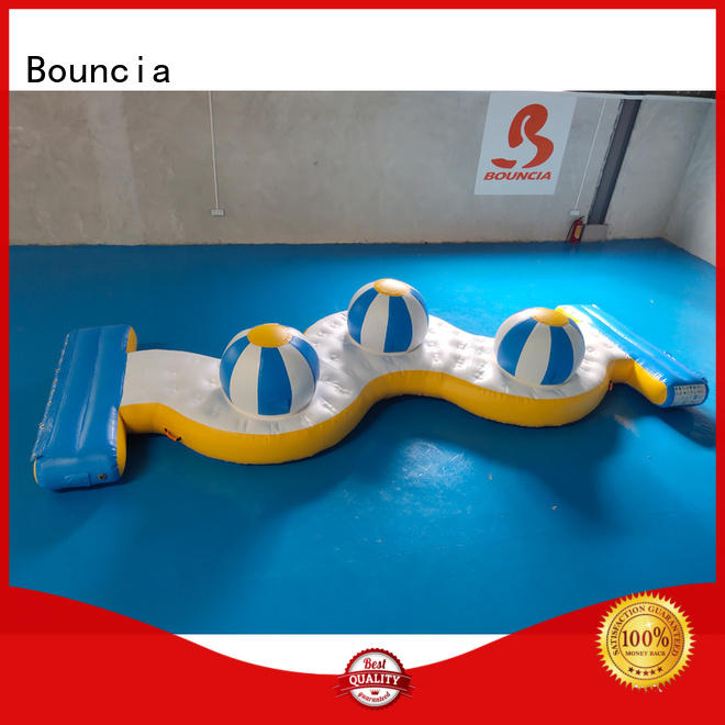 obstacle pillow wall inflatable water games Bouncia