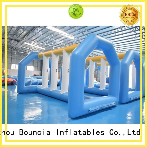 wall ramp slipping inflatable water games Bouncia Brand