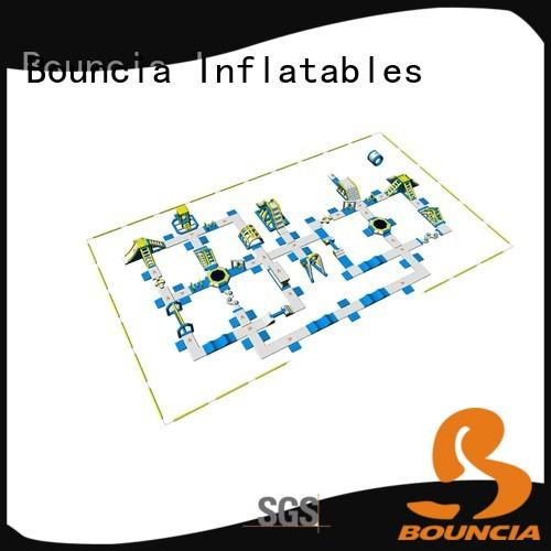 Bouncia large inflatable water slide customized for outdoors