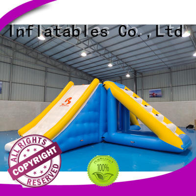 design caps inflatable water games sport Bouncia company
