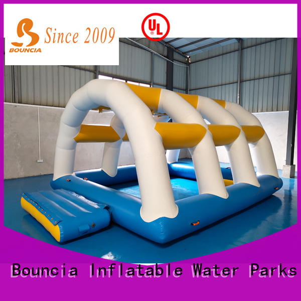 Bouncia blob kids inflatable water slide factory for pool