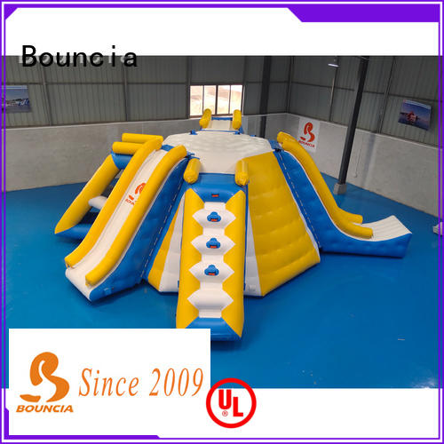 Bouncia trampoline water inflatables for sale series for outdoors