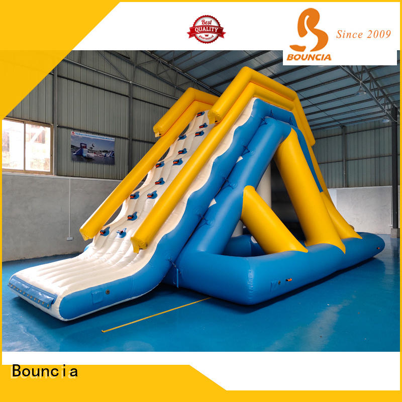 Best inflatable water slide for lake tarpaulin Supply for outdoors