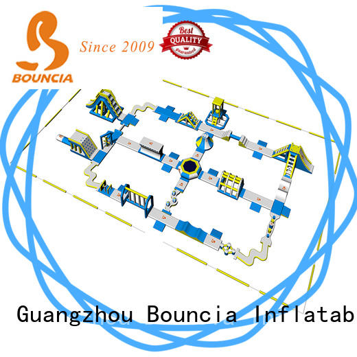 Bouncia 80 outdoor water inflatables supplier for kids
