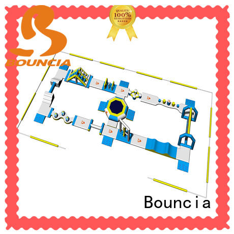 Bouncia commercial inflatable aqua park personalized for kids