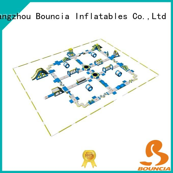 course popular giant inflatable adult slipping Bouncia company