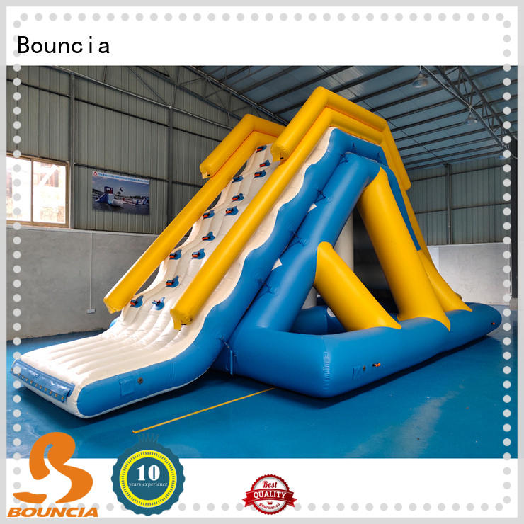 Bouncia typhon water inflatables for lakes customized for pool