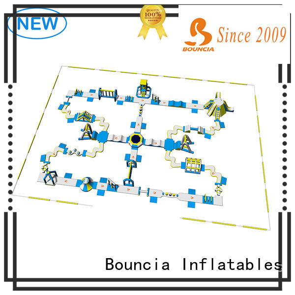 Bouncia tarpaulin inflatable water park series for adults