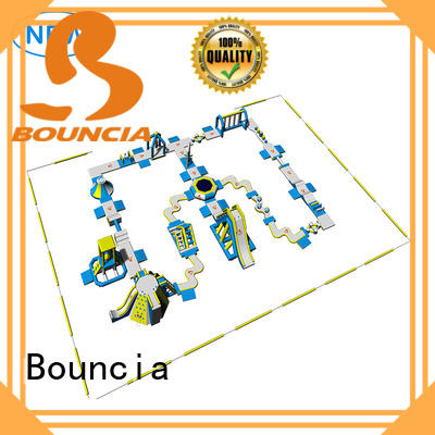 Bouncia commercial inflatable water obstacle course wholesale for outdoors