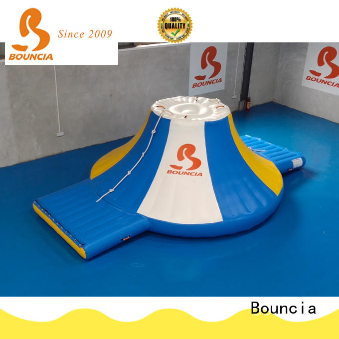 Bouncia certificated inflatable waterslides directly sale for pool