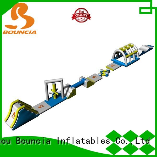 trendy sale blob climbing small inflatable water park Bouncia Brand