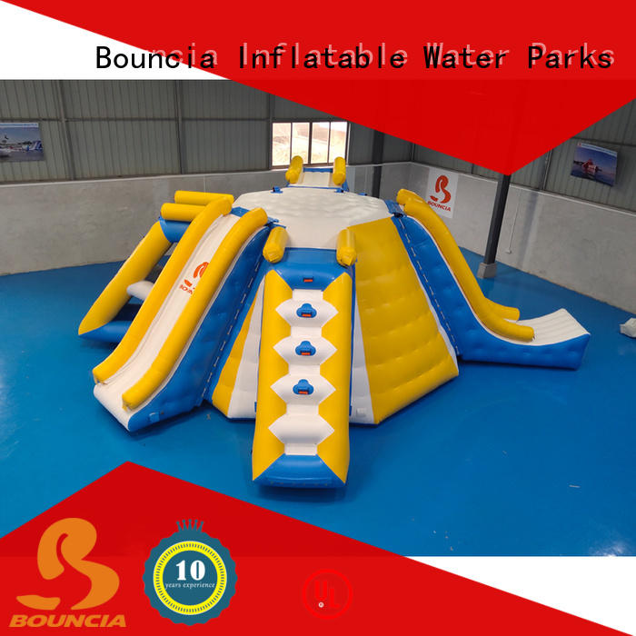 Bouncia ramp children's inflatable water park Supply for outdoors