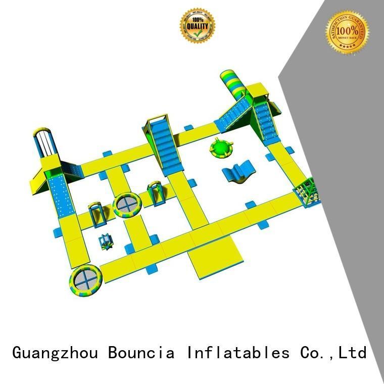obstacle aqua equipment grade giant inflatable Bouncia