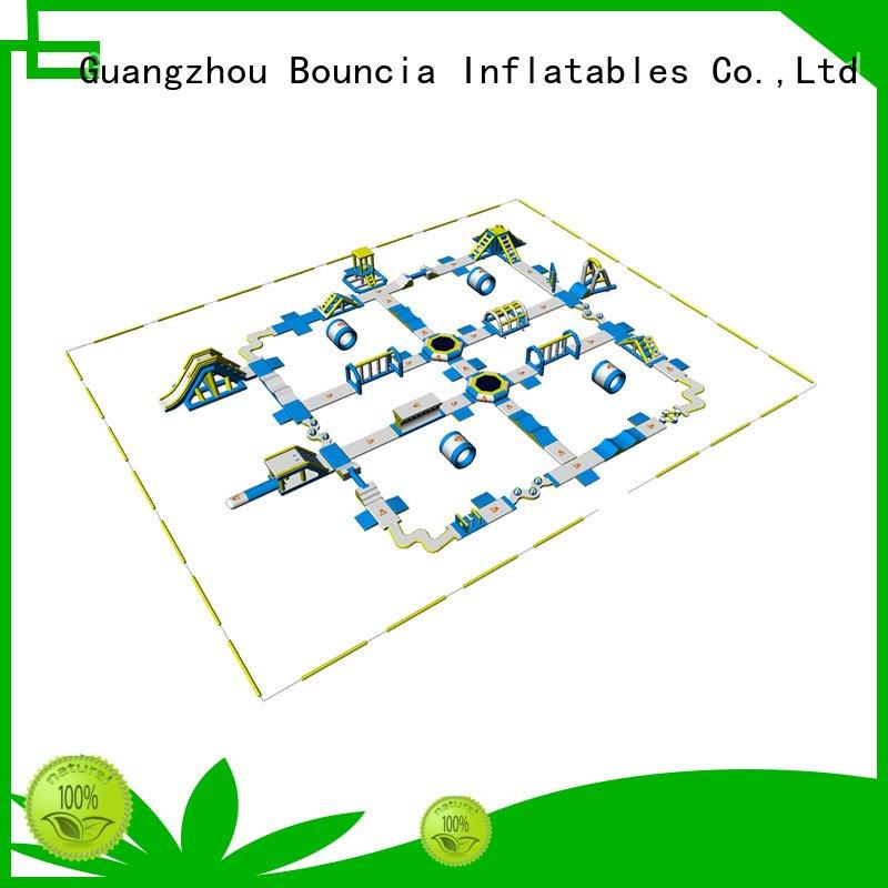 inflatable water park for adults adult certificate certification game Bouncia