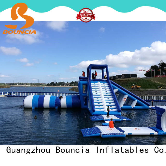 Bouncia typhon commercial grade inflatable water park Supply for outdoors