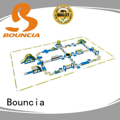 floating inflatable aqua park bouncia factory price for kids