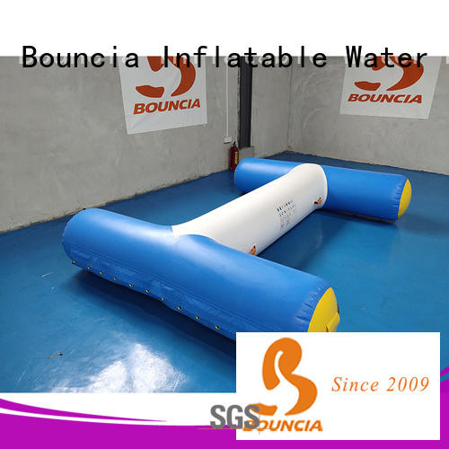 Bouncia tarpaulin inflatable float for outdoors