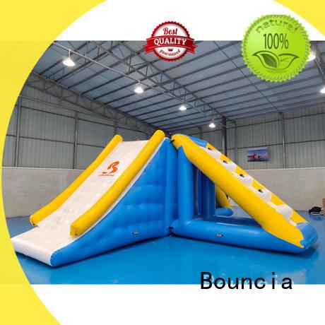 climbing aqua park equipment jump for pool Bouncia