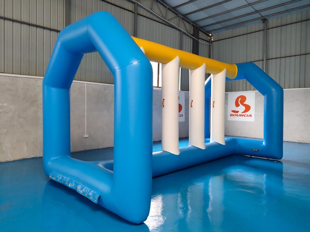 awesome aqua fun park jumping platform customized for kids-1