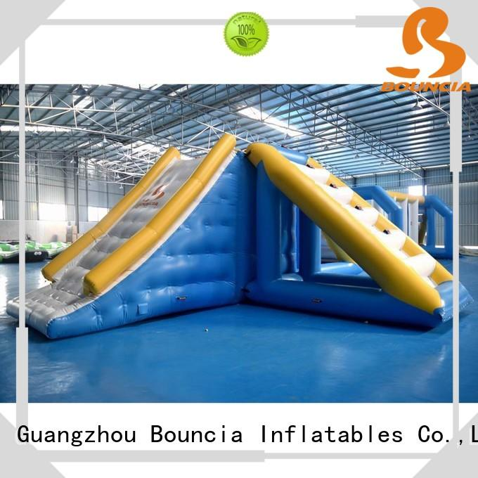 Custom waterpark inflatable water games sea Bouncia