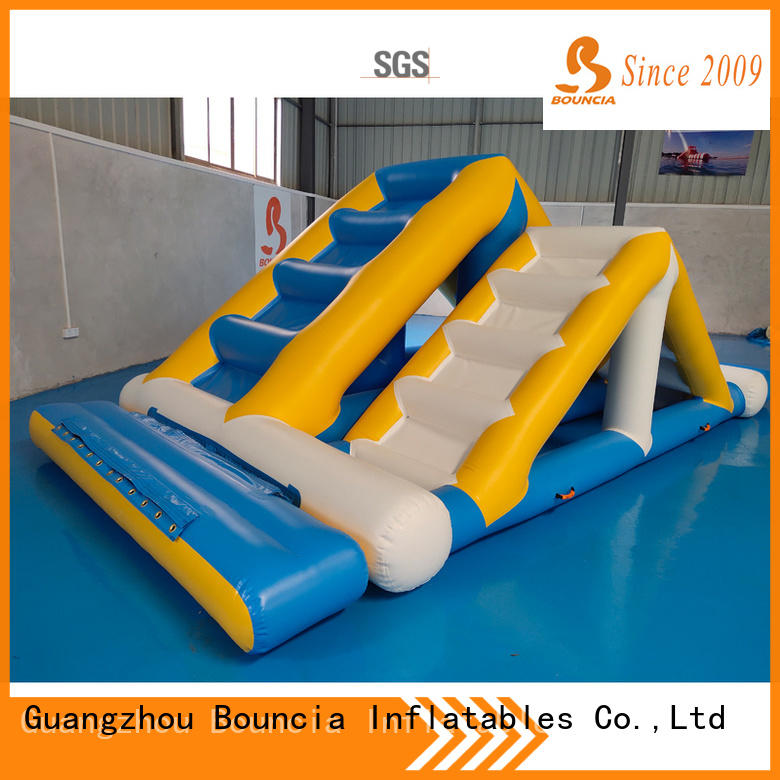 Bouncia ramp water park from China for kids