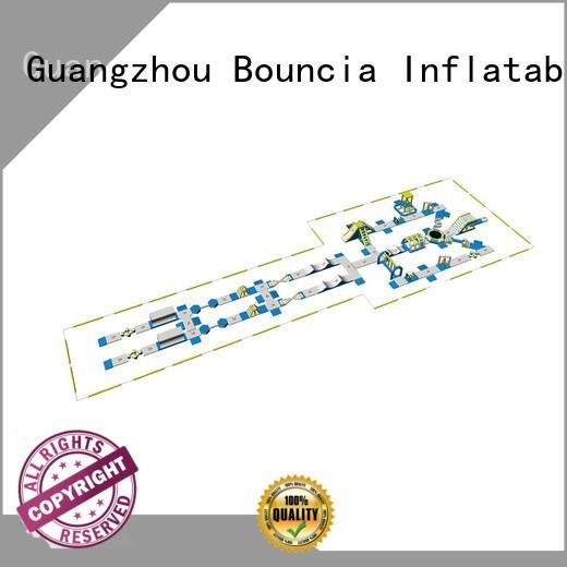 Quality Bouncia Brand inflatable water park for adults playground