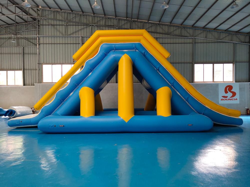 Bouncia mini games inflatable lake obstacle course factory for kids-2