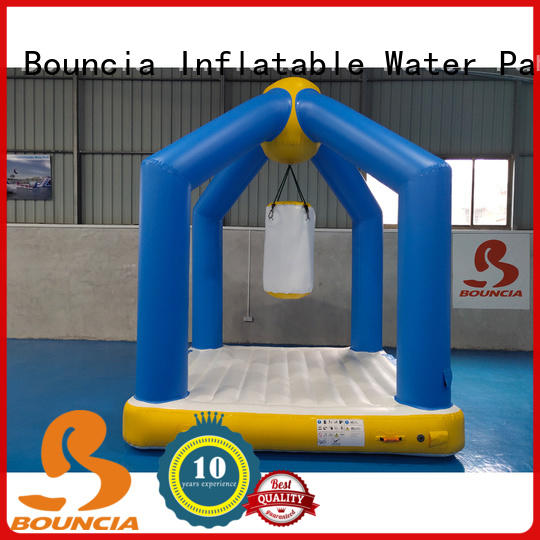 Bouncia awesome floating inflatable obstacle course from China for adults