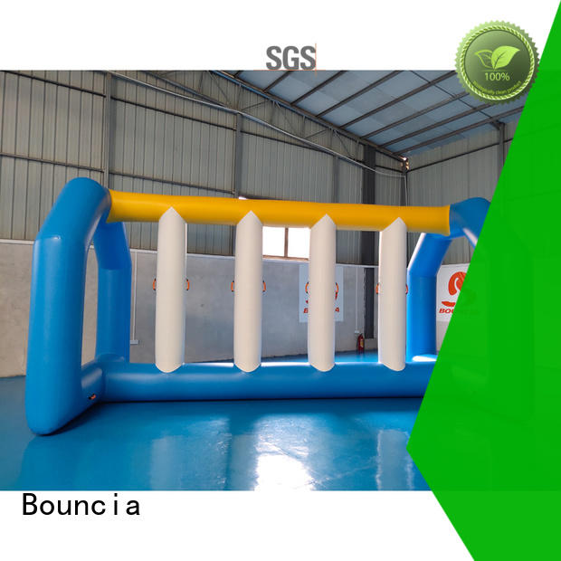 Bouncia one station commercial inflatable water slides from China for outdoors