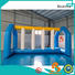 Bouncia course blow up slip and slide for outdoors