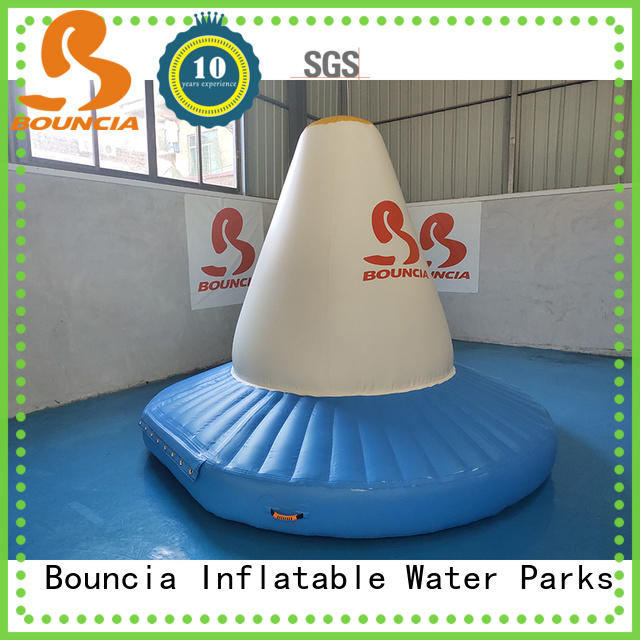 stable trampoline water park ramp for business for pool
