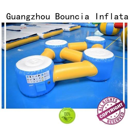 Hot inflatable water games colum Bouncia Brand