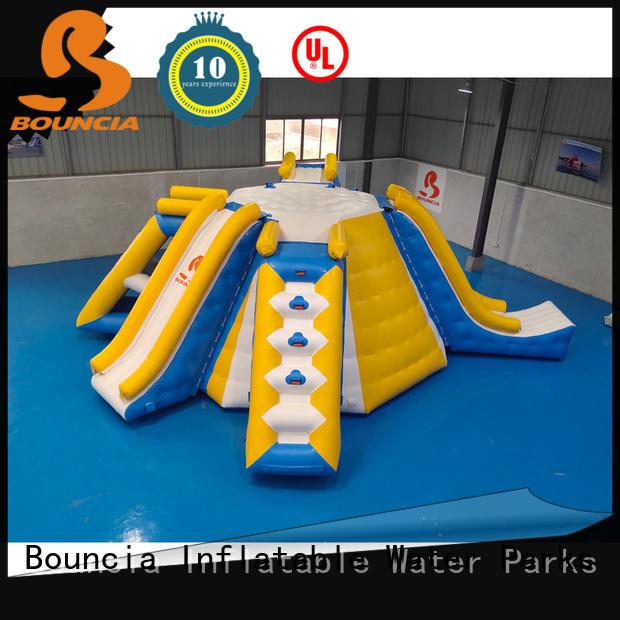 Bouncia ramp aqua park customized for kids