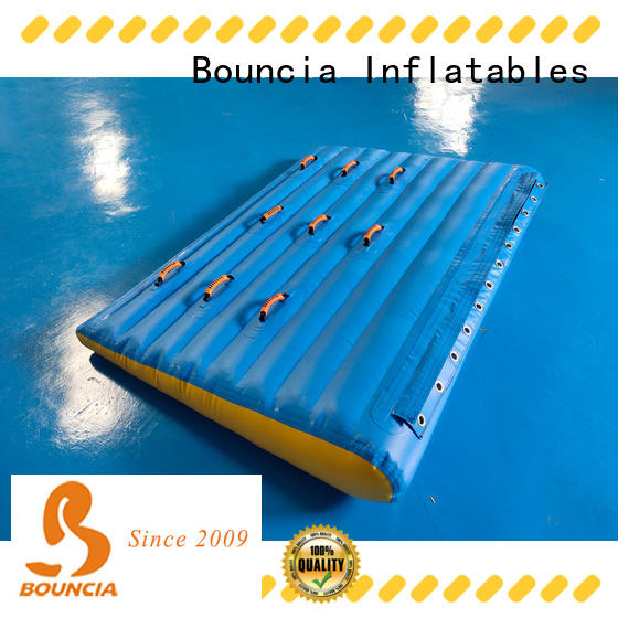 Bouncia certificated water play equipment customized for kids