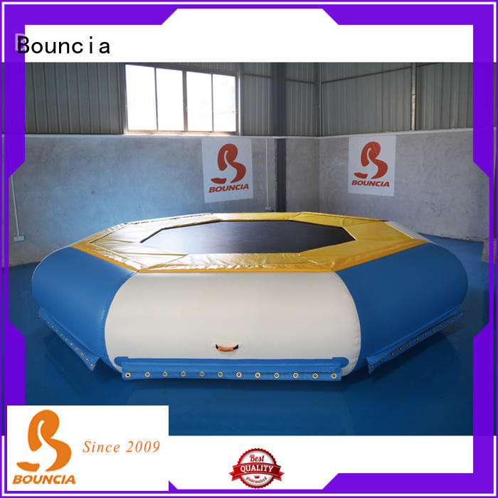 Custom inflatable water slide park jump factory for outdoors