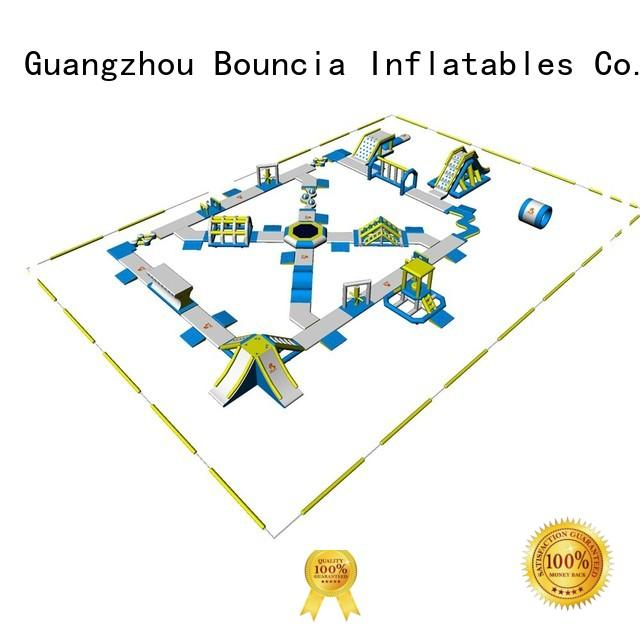 Bouncia Brand playground game toys blow up water park manufacture