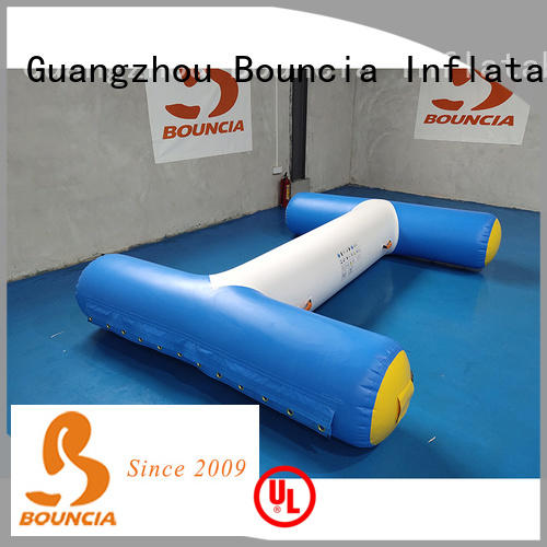 Bouncia tarpaulin inflatable waterslides for business for pool