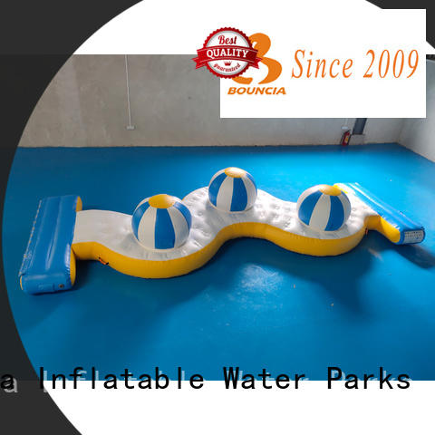 Bouncia awesome water park playground company for pool