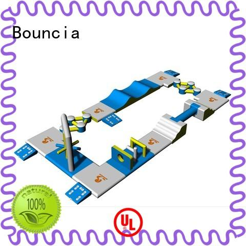 outdoor inflatable water park course for outdoors Bouncia