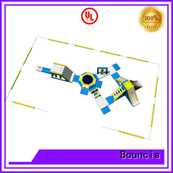 Bouncia certificated aqua fun park manufacturer for kids