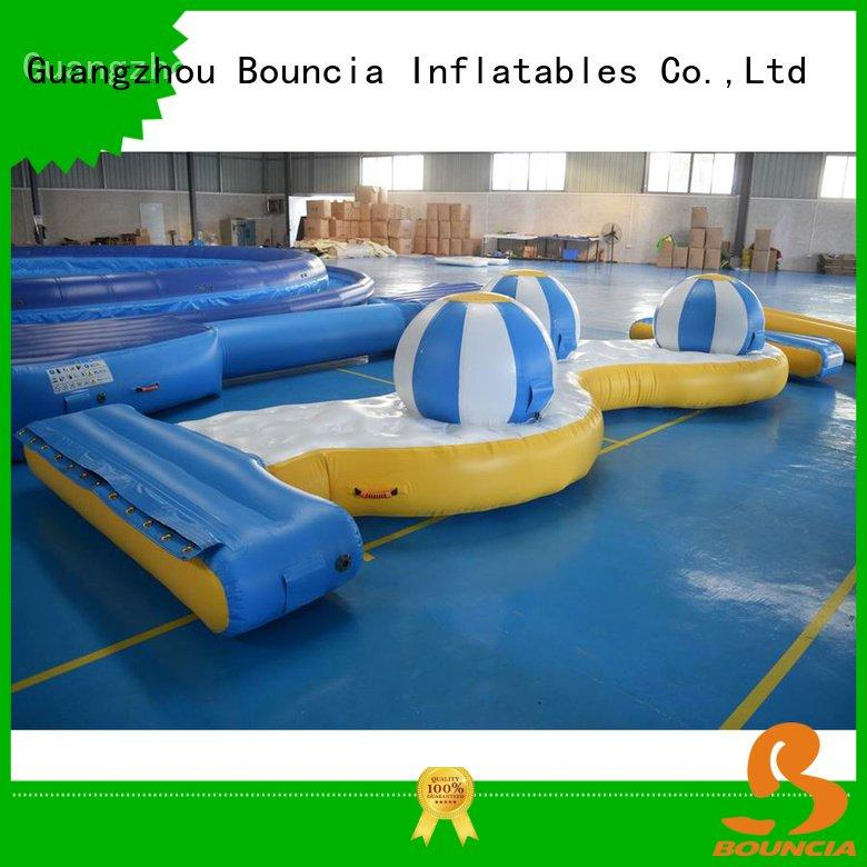 Bouncia Brand trampoline 09mm game inflatable factory