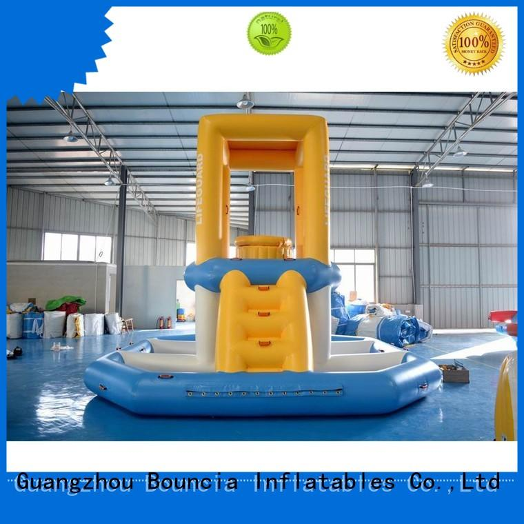 hot sale obstacle inflatable factory double jump Bouncia Brand