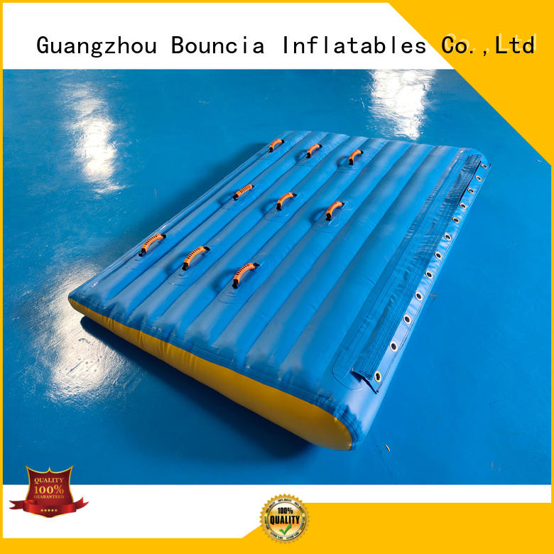 inflatable factory certificate equipment Bouncia Brand inflatable water games