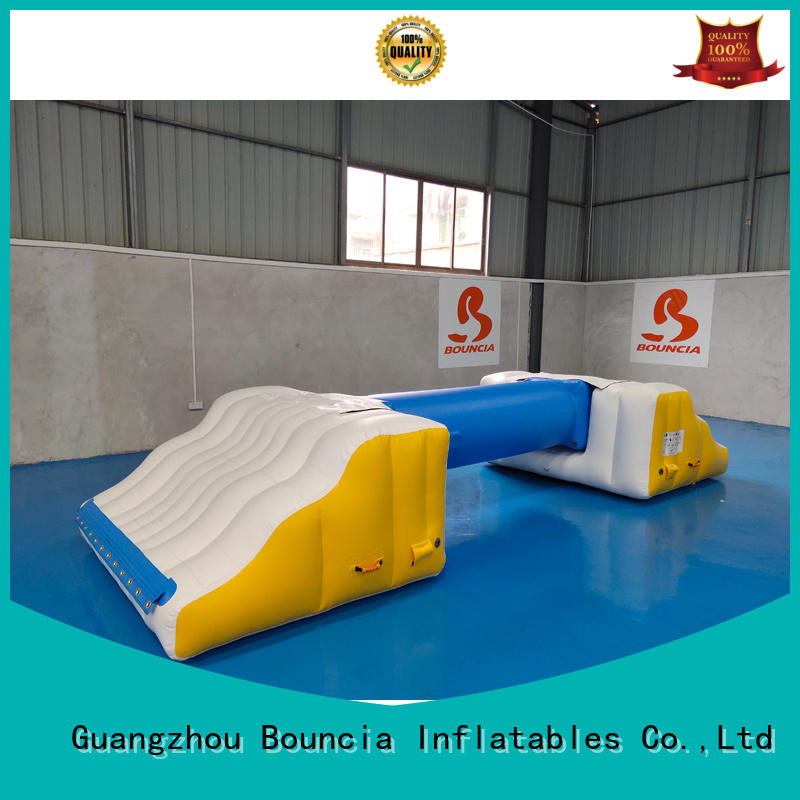 obstacle game inflatable water games professional giant Bouncia company