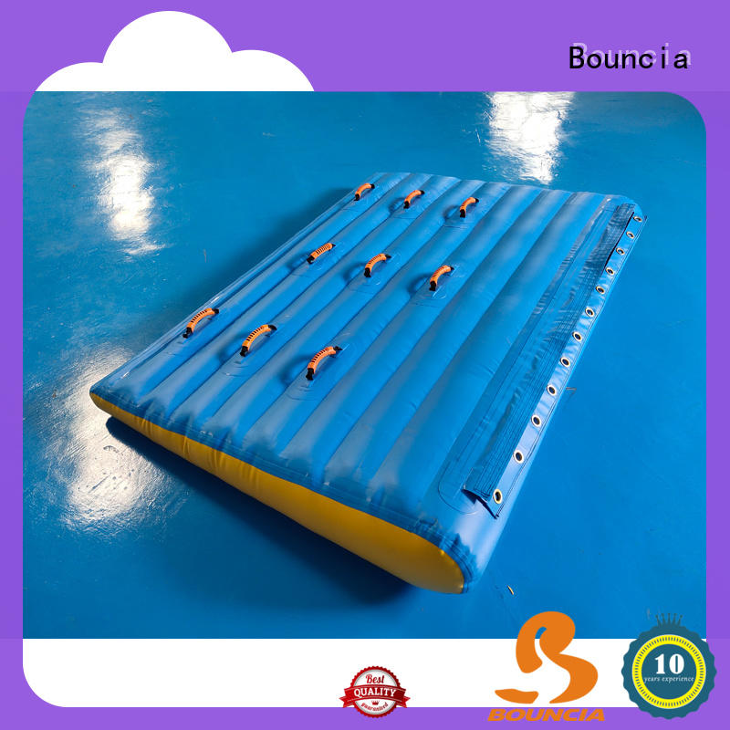 Bouncia double commercial inflatable water park customized for outdoors