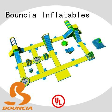 Bouncia pvc inflatable park directly sale for lake