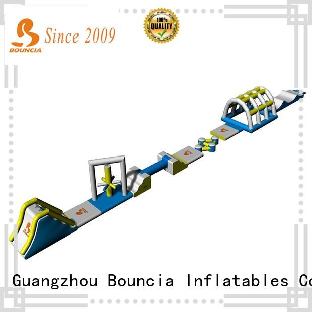 Bouncia slide commercial inflatable water park directly sale for pools
