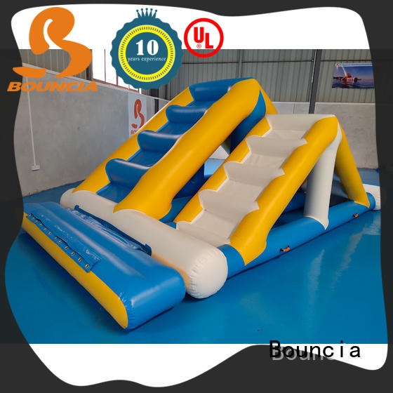 stable inflatable water park factory trampoline for adults